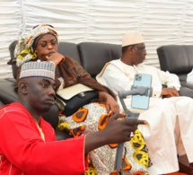 Le Président Macky Sall et son oncle Abdoulaye Thimbo en Deuil