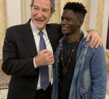 Italie : Le Sénégalais agressé reçu par le Président de Sicile