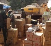 Kédougou: la brigade mobile des douanes saisit un lot de faux médicaments d'une valeur de 330 millions F Cfa