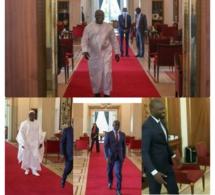 COVID-19: Sonko, Idy, Gackou, Khalifa Sall chez Macky Sall au palais. Quand un virus réunissent l'opposition au pouvoir