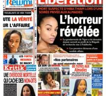 REVUE DE PRESSE: Mort troublant de Hiba Thiam à la Une des quotidiens du lundi 06 Avril 2020