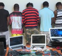 Cybercriminalité: 8 Nigérians arrêtés à Dakar