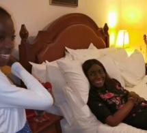 Drôle ! La fille de Coumba Gawlo déclenche les fous rires de sa mère et des internautes