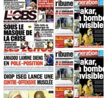 REVUE DE PRESSE: Controle judiciaire de Louty Ba, Amadou Niane, affaire Diop Iseg, situation du jour covid-19 à la une des quotidiens du jour