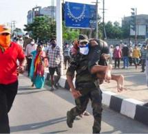 Inde: Une fuite de gaz meurtrière dans une usine envoie mille personnes à l'hôpital