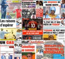 REVUE DES TITRES: LA UNE DES QUOTIDIENS DU LUNDI 11 MAI 2020:• Annonce de la réouverture des mosquées à Touba