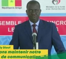 """Audio: Dr Aloyse Diouf: """"Nous allons continuer notre stratégie de communication pour…"""""""