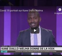 Covid 19: Portrait de  l'artiste chanteur Kane Diallo Welma sur la chaine marocaine