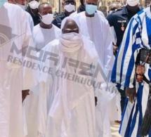 Photos: Serigne Mountakha Arbore Son Masque Et Montre La Voie À Tous Les Fidèles (Photos)