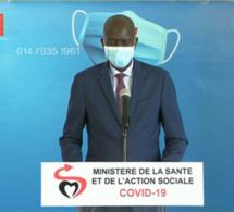 Covid-19 : Réctificatif du ministère :119 nouveaux cas positifs, 59 guéris
