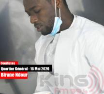 Birane Ndour, fils de You, très impliqué dans l'organisation du QG