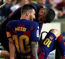Le FC Barcelone confirme la blessure de Lionel Messi, sa durée d'indisponibilité connue