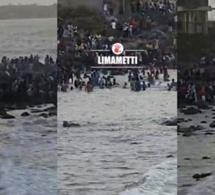Regardez ce qui se passe à la plage de Yoff