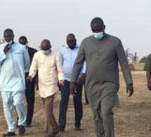 Le Ministre de l'Intérieur Aly Ngouille Ndiaye et le Ministre de l'Urbanisme du Logement et de l'Hygiène publique Abdou Karim Fofana, à Ndingler (Photos)