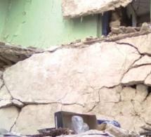 Thiès : Un immeuble s'effondre et fait 5 blessés graves