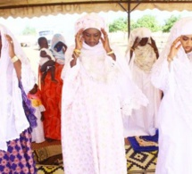 Temps forts prière de Tabaski avec Sokhna Aida Diallo