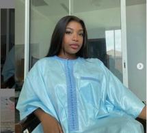 Tabaski 2020:Admirez le « sagnsé » très classe de Venus,la fille de Youssou Ndour