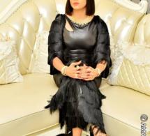 Tabaski la femme d affaires Colé Faye sublime et élégante ravit la vedette des sangne sé