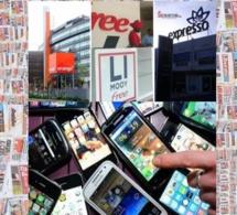 Revue Presse : La guerre de la téléphonie mobile en vedette…
