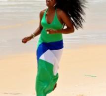 Binta Goudiaby belle même lorsqu'elle court