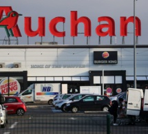 FRANCE - Auchan annonce la suppression de près de 1.500 postes