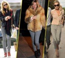 Looks de Kate Moss : sa fashion fixette ? Le slim gris !