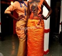 La belle Mifa Diop et son look d'enfer et une copine