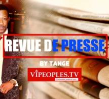 Revue des titres par Tange la une des quotidiens du lundi 14 septembre 2020