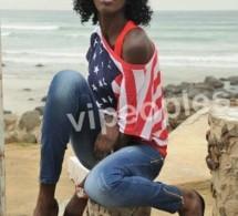Riane Kane, sénégalaise d'origine, américaine par l'habillement