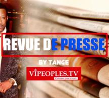 REVUE DES TIRES PAR TANGE: La une des quotidiens du jeudi 17 septembre 2020