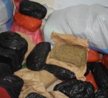 Khar Yalla : 68 kg de chanvre indien saisis et 7 personnes arrêtées