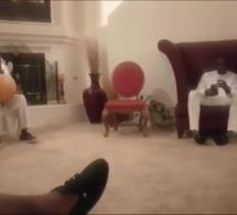 En direct Khawaré Chez Mo Gates à Las Vegas Ndiolle crée une chanson aux détracteurs