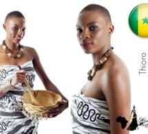 Voici Thioro, celle qui va se présenter à Miss West Africa Belgique