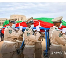 Obsèques de l'ancien président Sidi Mohamed Ould Cheikh Abdallahi