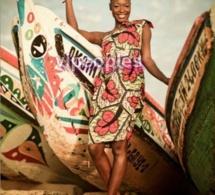Fleur Mbaye et les pirogues
