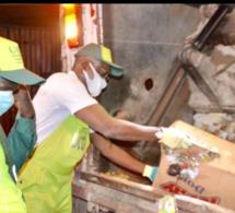 Lancement de l'opération de collecte NOCTURNE des déchets à Dakar.