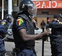 Operations de sécurisation a Thiaroye : La police investit le milieu interlope et interpelle 8 individus