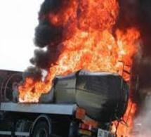 Drame à Kaolack : 3 morts et 8 blessés après l'explosion de 2 camions citernes d'essence
