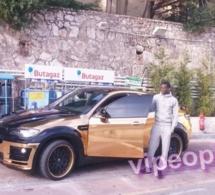 Le boss Ibou Touré et sa voiture qui clash