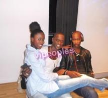 Kyshia Mbengue s'abondonne dans les bras de Souleymane Julo Pro et de Mam Tene