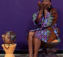 Fati Ly, Une dame mannequin de la marque Koro Kady