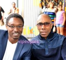 Pierre Alexis Largitte Fondateur magazine Caramel et l'écrivain Sémou Mama Diop, Paris Sept 2012 Afro free Market