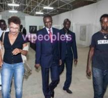 Youssou Ndour toujours attiré par le monde de la culture et artistique.