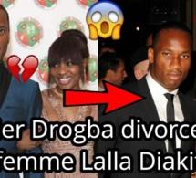 Drogba annonce sa « difficile » séparation d'avec Lalla Diakité, son épouse