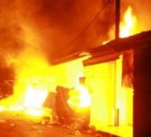 Incendie à Gassane :Plusieurs cases réduites en cendre