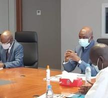 Réhabilitation du chemin de fer Dakar-Bamako: Mansour Faye reçoit en audience son homologue du Mali