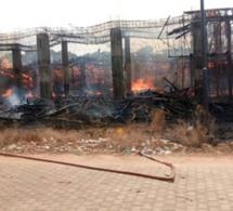 Urgent- Les chantiers de l'Université Assane Seck de Ziguinchor brulés