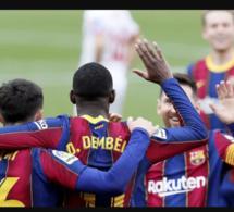Le FC Barcelone s'est imposé sur la pelouse de Séville (2-0)