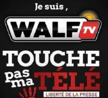 Leur signal suspendu : « Je suis WalfTv ! Touche pas à ma télé ! », clame le Groupe