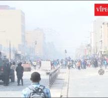 Manifestation a Médina les forces de l'ordre reculent fasse aux manifestants